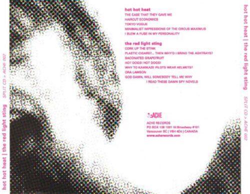 Hot Hot Heat / Red Light Sting | CD Tray