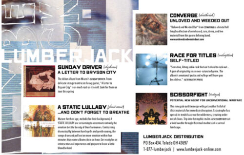 Lumberjack Distribution | Vice Magazine Advert - 2003