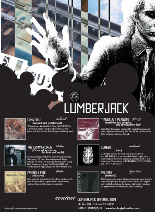 "Lumberjack Distribution | ""Wonka"" Advert - 2003"