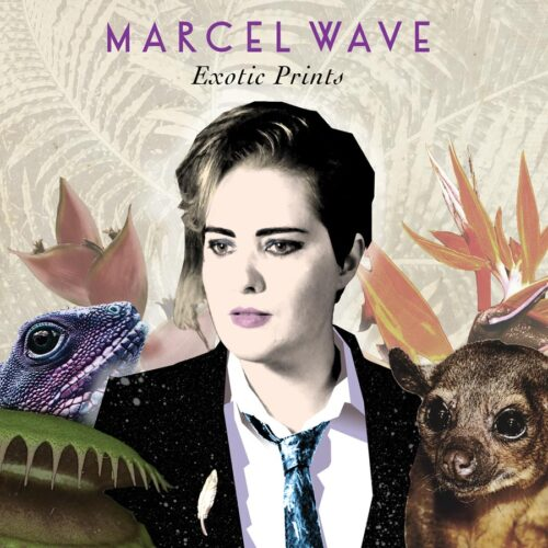 "Marcel Wave | ""Exotic Prints"" CD Cover"