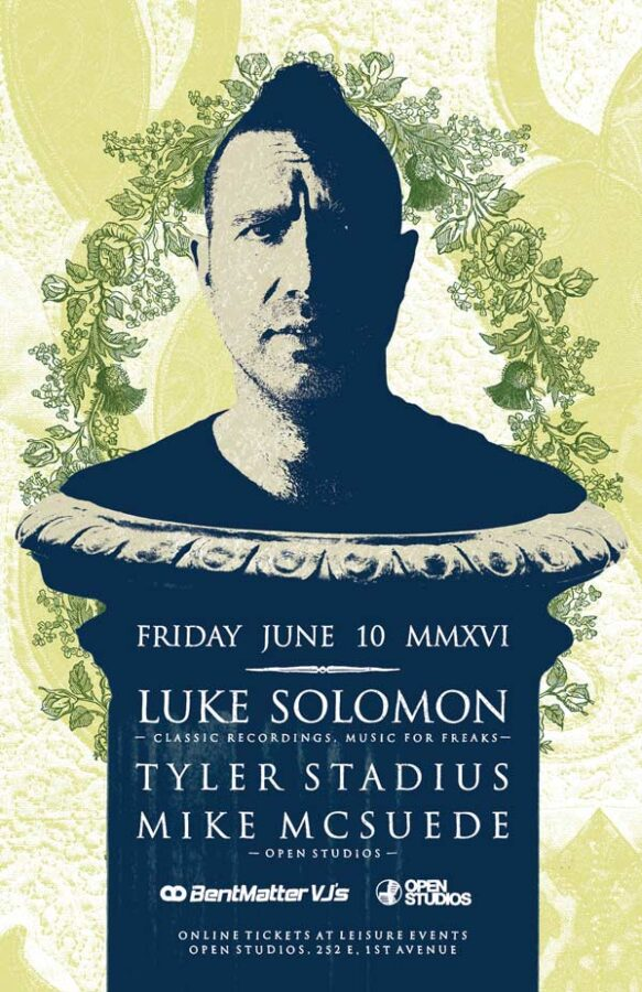 Open Studios | Poster - Luke Solomon - June 10, 2016