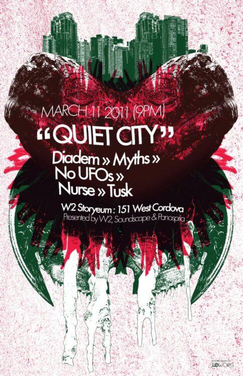 Panospria - Quiet City | Poster - March 11, 2011