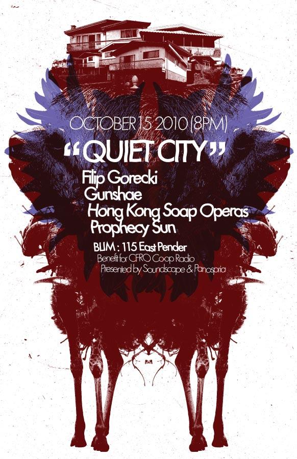 Panospria - Quiet City | Poster - October 15, 2010
