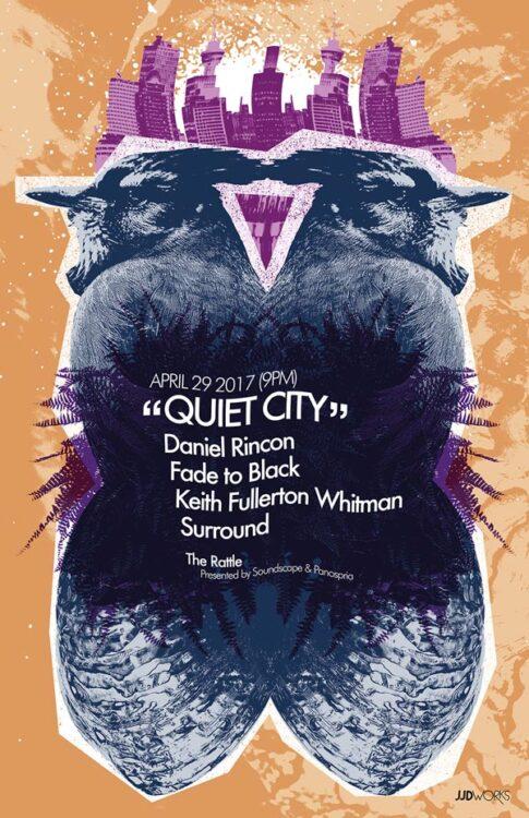 Panospria - Quiet City | Poster - April 29, 2017
