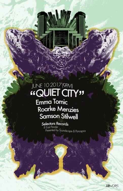 Panospria - Quiet City | Poster - June 10, 2017