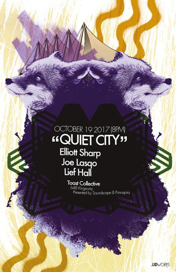 Panospria - Quiet City | Poster - October 19, 2017