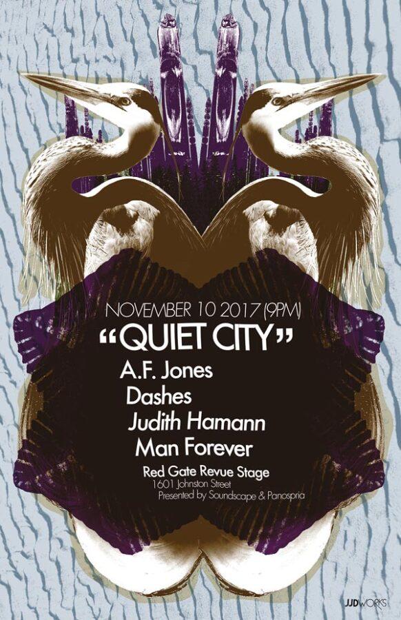 Panospria - Quiet City | Poster - November 10, 2017