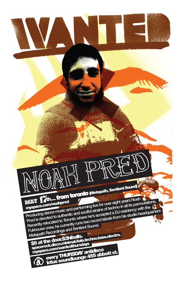 Wanted!   2007-05-17 Noah Pred Poster