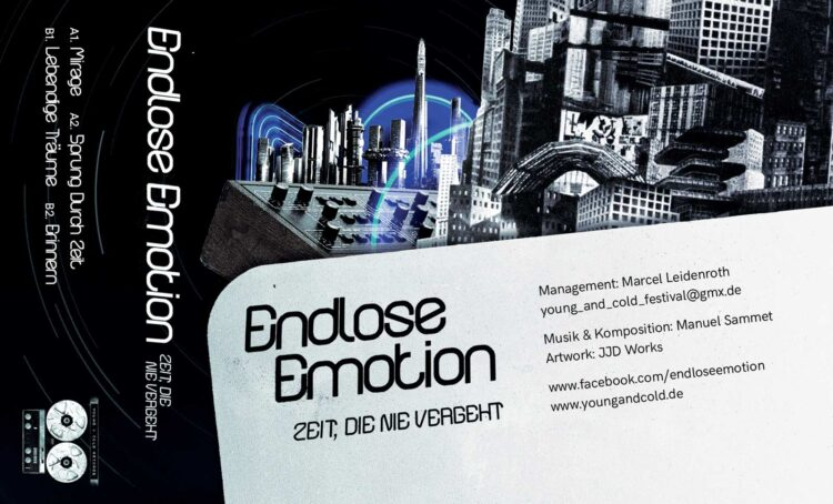 Endlose Emotion - Zeit Die Nie Vergeht EP | Cassette Cover Spread