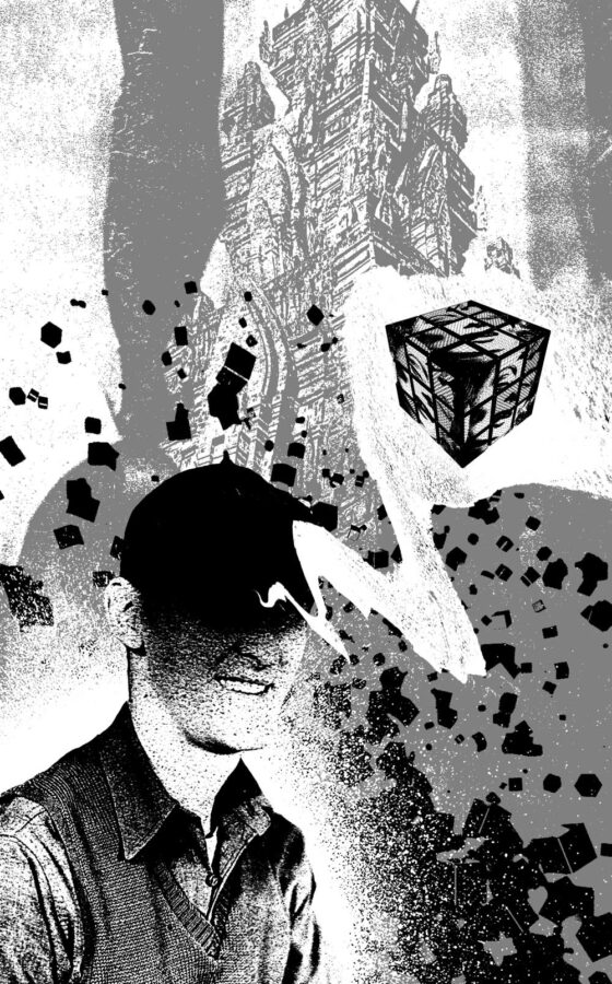 """Vexxed """"Cube Head"""" Collage"""