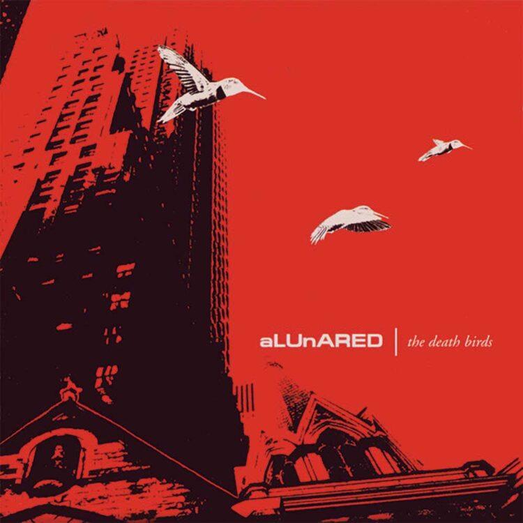 aLUnARED - The Death Birds | LP Cover
